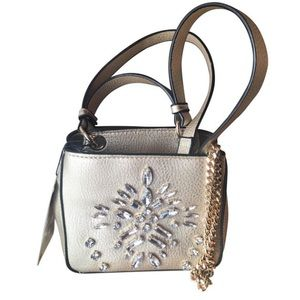 Zara Mini Metallic Stone Embellsihed bag